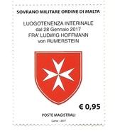 2017 - 1359 Stemma Luogotenenza - Malte (Ordre De)