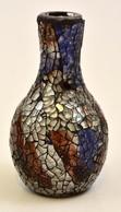 Üvegmozaik Váza, Hibátlan, M: 13  Cm - Verre & Cristal