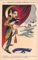 Illustrateur VIGNOLA -10.L'Escapade Française à Mitylène- Le Sultan - LES MARTIMES- - Satiriques