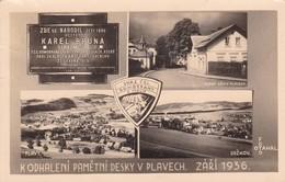 PLAVY,CZECH OLD POSTCARD (C491) - Tchéquie