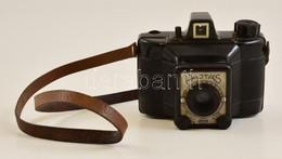 Gamma Pajtás 6x6-os Fényképezőgép, Achromat 1:8/80 Mm Objektívvel, Jó állapotban - Appareils Photo