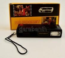 Pocket Camera 110 Filmes Fényképezőgép, Eredeti Dobozában, Működőképes, Szép állapotban - Appareils Photo