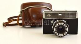 Agfa Silette Record Kisfilmes Fényképezőgép, Beépített Fénymérővel, Működőképes, Szép állapotban, Eredeti Bőr Tokjában / - Appareils Photo