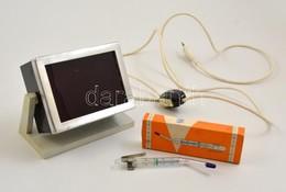 Foto - Thermometer Eredeti Dobozában, Jó állapotban, H: 13 Cm + Sötétkamra Lámpa, Működik - Appareils Photo