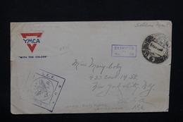 ETATS UNIS - Enveloppe D'un Soldat En Campagne En 1918  Pour New York - L 21275 - Postal History