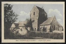CPA 50 - Omonville-la-Rogue, L'église - Sonstige Gemeinden