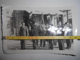 Carte Photo Vers 1941/42 Legion Francaise Combattants LFC Petain Drapeau / Magnac Bourg / Limoges / Pas Lvf - 1939-45