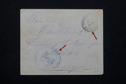 MAROC - Enveloppe D' Un Prisonnier De Guerre De Meknes Pour L 'Allemagne En 1916 - L 21277 - Maroc (1891-1956)