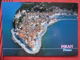 Piran / Pirano: Flugaufnahme - Slovénie