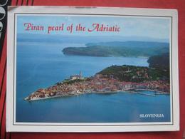 "Piran / Pirano: Flugaufnahme ""Piran Pearl Of The Adriatic"" - Slovénie"