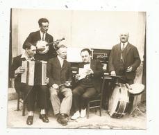 Photographie Issue D'un Journal,papier Glacé ,13 X 11.5 ,musique ,musiciens ,orchestre - Vieux Papiers