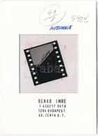 Benkő Imre (1943- ): Nyakkenedők II., Diapozitív, Pecséttel Jelzett, 3,5×4 Cm - Autres Collections