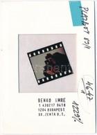 Benkő Imre (1943- ): Nyakkenedők I., Diapozitív, Pecséttel Jelzett, 3,5×4 Cm - Autres Collections