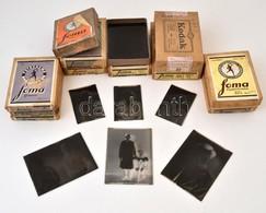 Cca 1940 és 1950 Között, Glázner Mária (később Sándor Andrásné) Csongrádi Fényképészeti Műtermében és Néhány Szabadban K - Autres Collections