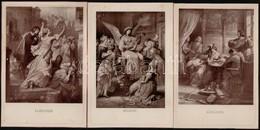 Cca 1900 Goethe Női Alakjai. 10 Db Festményről Készült Fotó / Female Characters Of Goethe. Photo Prints. 11x16 Cm - Autres Collections