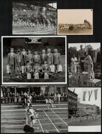 Budapesti Sportesemények, 6 Db Fotó, 7×9,5 és 13×18 Cm Közötti Méretekben - Autres Collections