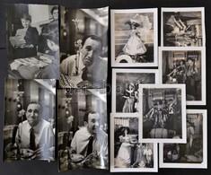 11 Db Humoros Színész és Jelmezes Fotó, 13×10,5 és 18×11 Cm - Autres Collections