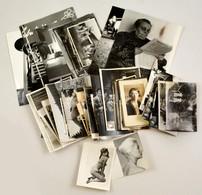 Vegyes Fotó Tétel, 90 Db Régi és Modern Fotó: életképek, Portrék, Közte Erotikus Is, Különböző Méretben - Autres Collections