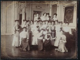 Cca 1900-1910 Egy Siófoki Meteorológus Képei, 3 Db, Kartonra Kasírozva, Egyik Körbevágva, 12×17 és 17×23 Cm  Közötti Mér - Autres Collections