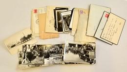 Kis Doboznyi Temetési Fotó és Gyászjelentés Különböző Időszakokból - Autres Collections