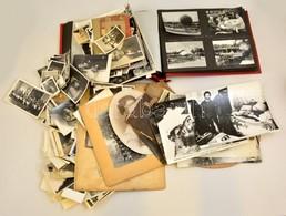 Kb. 350-400 Db Fekete-fehér Fotó Különböző Témákban, Közlekedés, Családi, Színészek, MTI Fotók, Stb. - Autres Collections