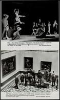 Cca 1980 5 Db Színházi és Balett Előadásokat Bemutató MTI Fotó 25x21 Cm - Autres Collections