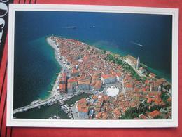 Piran / Pirano: Flugaufnahme - Slovenia