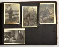 1952 Moszkva, Fotóalbum, Közte Katonai Fotókkal, Különböző Méretekben - Autres Collections