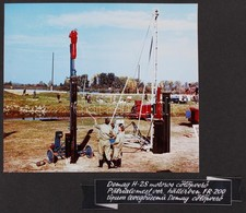 Cca 1965 Országos Árvízvédelmi és Belvízvédelmi Központi Szervezete Fotóalbuma érdekes Színes és Fekete-fehér Fotókkal é - Autres Collections