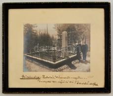 1931 Zabola, Háromszék Megye (ma: Zăbala), Bene Sándor Százados Szüleinek Sírja, Fotó Neuhauser Kovásznai Műterméből, Pe - Autres Collections