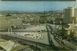 SOUTH KOREA - SEOUL - CITY HALL SQUARE - VINTAGE POSTCARD - STAMPS - 1960s (BG2061) - Corée Du Sud
