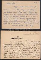 1941-1949 Fejléces Levelezőlapok (Feuerstein Imre, Ujfalussy György, Petráss László, Szegő József Nagykanizsa, Stb.), 6  - Publicités