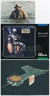 3 Db Film Reklám (Én A Vízilovakkal Vagyok, Star Wars II., Az Idő Urai) - Publicités