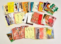 Cca 1973-2014 100 Db Vegyes Kártyanaptár - Publicités