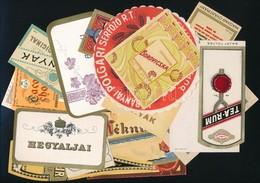 20 Db Régi Italcímke - Publicités