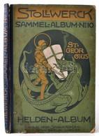 1909 Stollwerck Csokoládépapír Gyűjtőkártya Gyűjtemény. Teljes Albumban. Kissé Megviselt Félvászon Kötésben / 1909 Stoll - Publicités