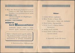 1950 Budai Izraelita Aggok és árvák II. Labanc úti Intézményének Meghívója - Other Collections