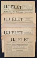 1958-1976 Az Új élet Izraelita Lap 11 Lapszáma, érdekes írásokkal - Other Collections