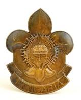 Cca 1930. 'Hungaria' Br Cserkész Sapkajelvény / Scout Cap Badge - Scouting
