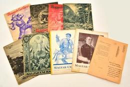 Cca 1930 8 Db Magyar Cserkész C .újság - Scoutisme