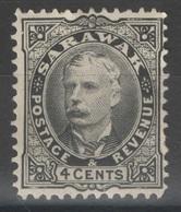 Sarawak - YT 32 (*) - 1895 - Sarawak (...-1963)