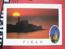 Piran / Pirano: Sonnenuntergang - Slovénie