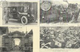 LOT DE 24 REPRODUCTIONS DE CARTES POSTALE ANCIENNES DIVERSES EVENEMENTS ET CURIOSITES FRANCAIS - Postcards