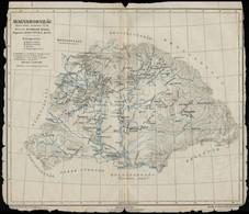 Cca 1900 Magyarország Szent István Halálakor(1038), Tervezte Dr. Pauler Gyula, Rajzolta Kogutowicz Manó, Kiadja Kogutowi - Maps