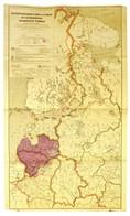1942 Die Verbreitung Der Letten Und Litauer Im Nordwestlichen Europäischen Rußland / The Distribution Of The Latvians An - Maps