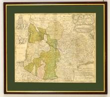 Cca 1700 Johann Baptist Homann (1664-1724): Tabula Aquitaniae Complectens Gubernationem Guiennae Et Vasconiae Exhibita,  - Maps