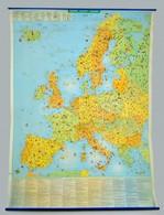 Európa Gazdasági Térképe. 100x140 Cm - Non Classés