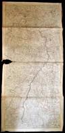 Cca 1790 A Rajnavidék Háborús Térképe. Neue General Kriegs Karte Des Rheinstrohms, Herausgegeben Von Iohann Walch Im Wil - Maps