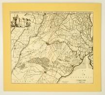 Cca 1670 Utrecht és Környékének Térképe, Domini Ultraiectini Tabula Auctore Frederico De Wit Amsterodami. Nagyméretű Réz - Non Classés