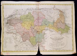 1801 A Délporosz Poseni Kerület Posta és Politikai Térképe. Das Zu Südpreussen Gehörige Posener Kammerdepartement  ...au - Maps